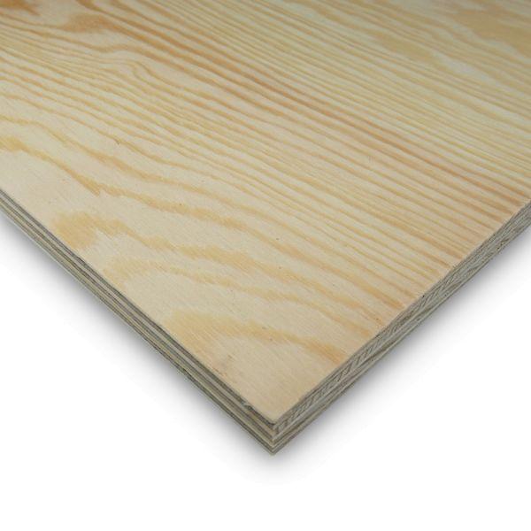 Sperrholzplatte Kiefer Zuschnitt 4 mm Möbelbau Platten Echtholzfurnier