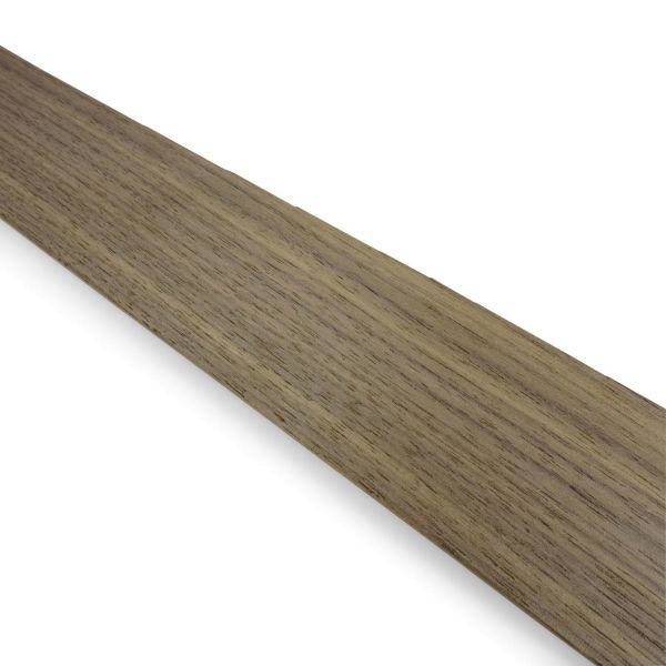 Furnierkante 2 mm, mit Schmelzkleber 25mm Nussbaum amerikanisch