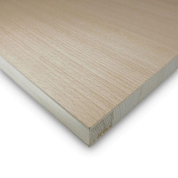 Tischlerplatte Buche Zuschnitt 19 mm Möbelbau Platten Echtholz