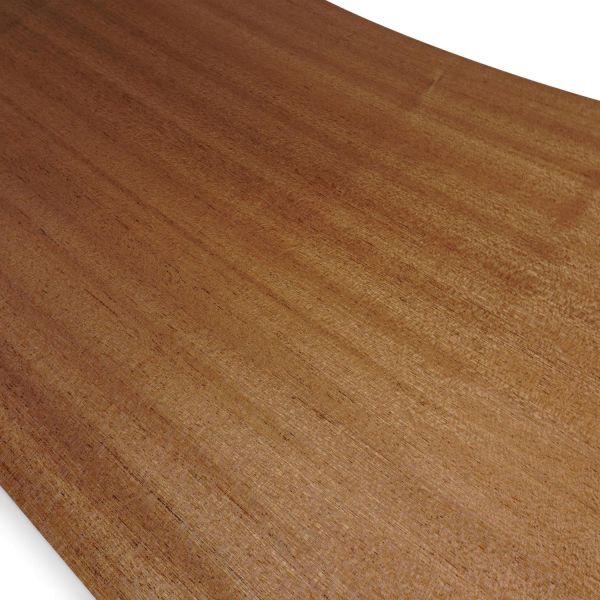 Echtholzfurnier ohne Schmelzkleber 280x28cm Mahagoni