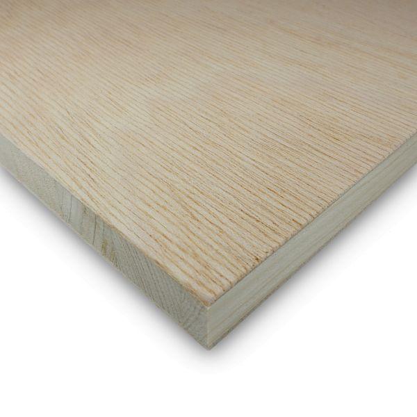 Tischlerplatte Gabun Zuschnitt 38 mm Möbelbau Platten Echtholz