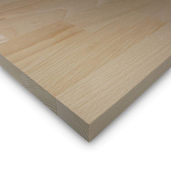 Leimholzplatte Buche Zuschnitt 18 mm Holzplatte Möbelbau Echtholz Keilgezinkt
