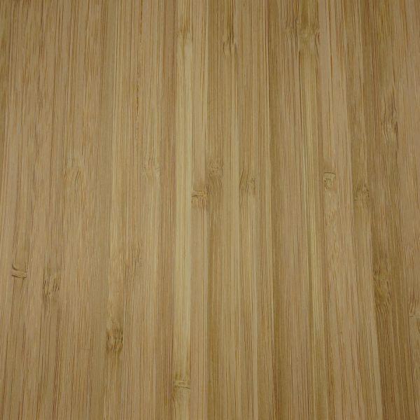 Echtholzfurnier mit Schmelzkleber 30cm Bambus hochkant dunkel