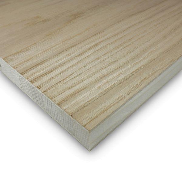 Tischlerplatte Eiche Zuschnitt 19 mm Möbelbau Platten Echtholz