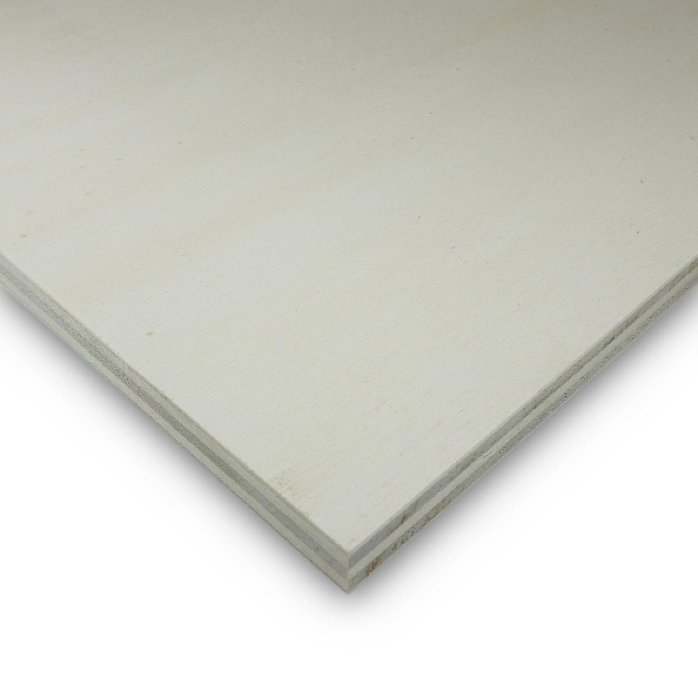 PiHaMi/® Sperrholz 6 mm Pappel Sperrholzplatte 60 x 30 cm Bastelholz Multiplexplatte 18,50/€//m/²
