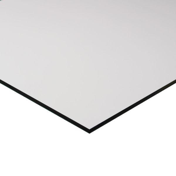 HPL Fassadenplatte 6mm | UV-Beständig | weiß ähnlich RAL-Ton: 9010