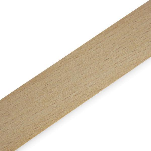 Furnierkante 0,6 mm, mit Schmelzkleber Buche gedämpft 22 mm