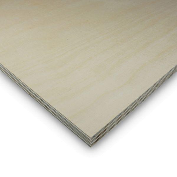 Multiplexplatte Birke Zuschnitt Sperrholz 40 mm Möbelbau Platten