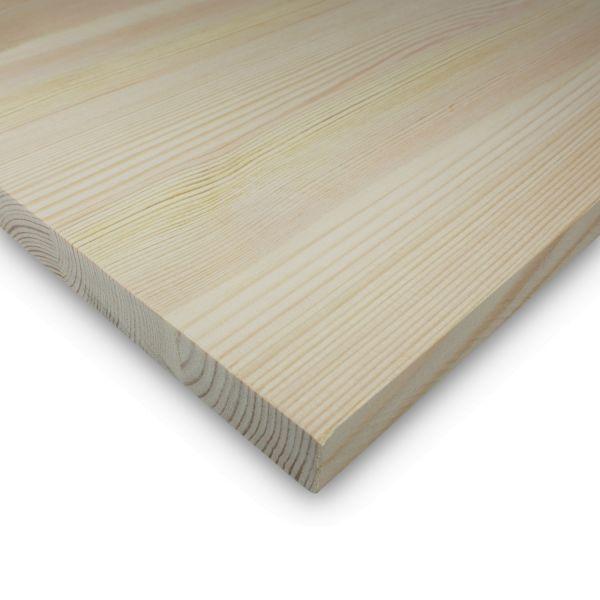 Leimholzplatte Kiefer Zuschnitt 28 mm Holzplatte Möbelbau Echtholz Durchgehend