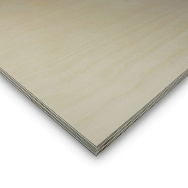 Multiplexplatte Birke Zuschnitt Sperrholz 15 mm Möbelbau Platten