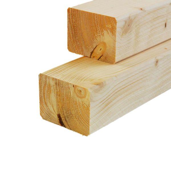 Konstruktionsvollholz Fichte, getrocknet, 6x8x Zuschnitt cm