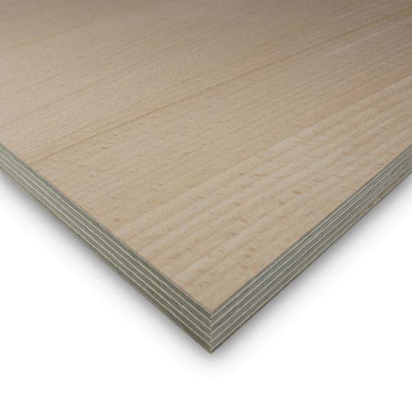 Multiplexplatte Buche Zuschnitt Sperrholz 40 mm Möbelbau Platten